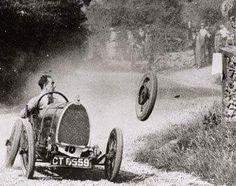 Raymond Mays in Bugatti.