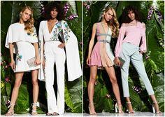 Con una colección super femenina, colores claros, combinación perfecta entre atuendo y accesorios, siempre espectacular.