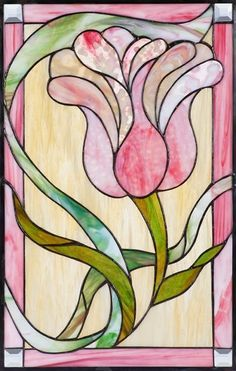 Custom Made Traditional Stained Glass Window made by Paradise Custom Glass