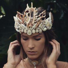 Chelsea's flower crowns etsy shop Mermaid crown