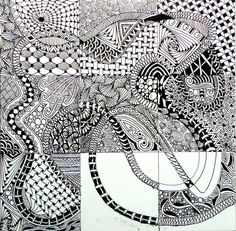 I have been inspired by Shelly Bauch CZT  , where she had taken upon herself to create a zentangle a day and post it on her blog  daily a...