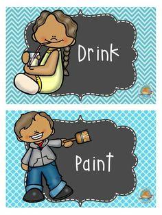 Niño School Colors, 1, Teacher, Classroom, Comics, Ink Painting, Schedule, Characters, Paper