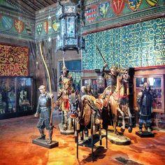 """""""Il Museo Stibbert è uno dei miei preferiti a Firenze: uno scrigno con tanti segreti del passato. Da vedere! #EnjoyFirenze"""" @tommyonweb"""