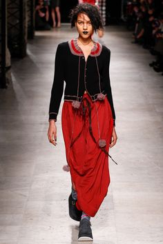 Andreas Kronthaler for Vivienne Westwood Fall 2016 Ready-to-Wear Fashion Show