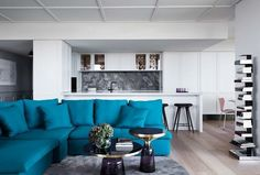 Renovation: the overhaul of an art-loving, empty-nester's Melbourne apartment - Vogue Living
