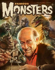 Ray Harryhausen; an artist, producer and genius.  His stop-motion animation movies were must-see TV when I was a kid.  Meeting him in person at Comic Con 2005 was a tremendous thrill.