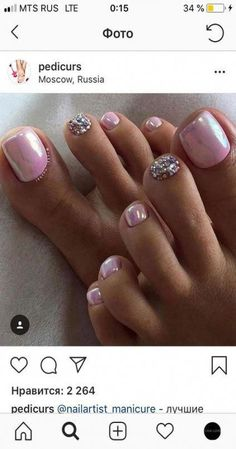 60 trendy pedicure ideas summer toenails design spring nails Best Picture For spring nails 2018 For Your Taste You are looking for something, and it is going to t Pretty Toe Nails, Cute Toe Nails, My Nails, Pink Toe Nails, Chevron Nails, Jamberry Nails, Pink Toes, Bright Nails, Toe Nail Color