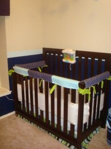 DIY crib teething guard - Changed it a little, but it works like a charm and I love it!