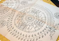 vintage swedish embroidery pattern