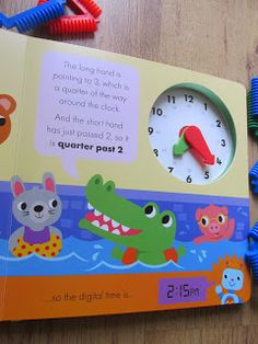 I reviewed this amazing educational book from Little Tiger Press that teaches children how to tell the time!