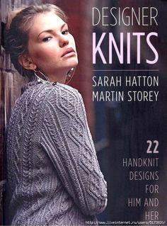 Designer Knits: Sarah Hatton & Martin Storey: 22 Handknit Designs for Him & Her Vogue Knitting, Knitting Books, Crochet Books, Vintage Knitting, Knitting Stitches, Knitting Designs, Knitting Patterns Free, Knitting Yarn, Knitting Projects