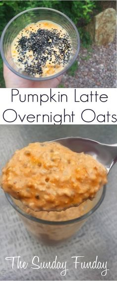 Pumpkin Latte Oats T