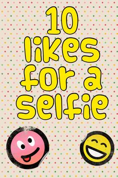 30 likes for a selfie* gets no likes* lol