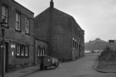 Chancery Lane. New development scheme. Old Eden pottery on left. Also Post Office on left. More unseen images of Longton: Bert Bentley Collection