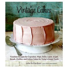 Vintage Cakes Recipe Book #mothersdaygifts