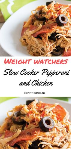 Slow Cooker Pepperoni and Chicken - 25 Awesome Keto Friendly Crockpot Ideas Low Carb Slow Cooker, Healthy Slow Cooker, Slow Cooker Recipes, Crockpot Recipes, Healthy Chicken Recipes, Easy Healthy Recipes, Recipe Chicken, Healthy Foods, Healthy Eating