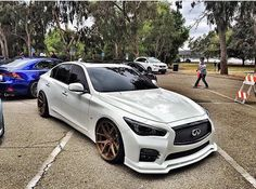 Infiniti Q50 Sport, 2015 Infiniti Q50, Nissan Infiniti, Q50 Red Sport, G37 Sedan, Rims For Cars, Nissan Maxima, Japan Cars, Jdm Cars