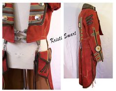 Anime Steampunk tail coat mens medium by ManicManx on Etsy, $720.00
