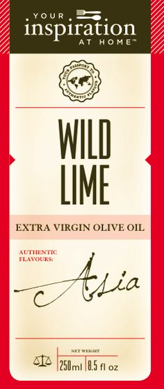 Wild Lime EVOO 250ml  With a subtle hint of citrus, this oil is wonderful when searing beef or chicken before tossing through a salad with chlii and noodles.