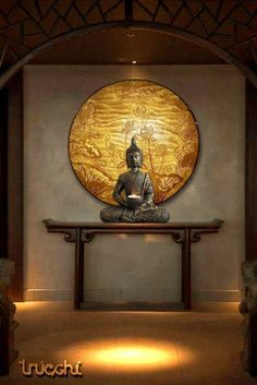 buddha decor A beautiful entrance foyer creates a wonderful feeling and undoubtedly creates an amazing impact on the individual entering the building Home Entrance Decor, Entrance Foyer, House Entrance, Entryway Decor, Feng Shui Entryway, Feng Shui Bedroom, Entrance Design, Buddha Home Decor, Room Partition Designs