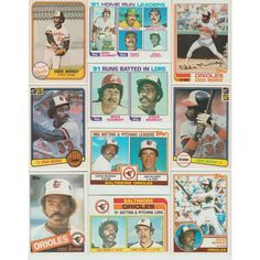 Huge 80 + Different EDDIE MURRAY 1981 - 2014 card lot Orioles Dodgers Mets HOF Listing in the 1980-1989,Sets,MLB,Baseball,Sports Cards,Sport Memorabilia & Cards Category on eBid United States | 148677611