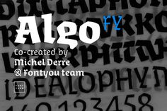 Check out Algo FY Family by FONTYOU on Creative Market