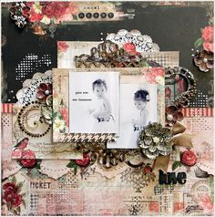 Blue Fern Studios  love - Scrapbook.com
