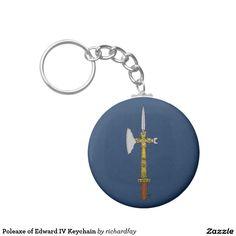 Poleaxe of Edward IV Keychain