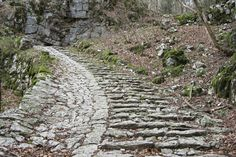 TripBucket - Walk up the 4,444 steps of Calà del Sasso, Italy