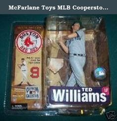 McFarlane Toys MLB Cooperstown Series 4 Action Figure Ted Williams (Boston Red Sox) Grey Uniform Variant. Ted Williams was a 17time AllStar, twotime A.L. MVP, and won a pair of Triple Crowns during his 19 seasons with the Boston Red Sox. In 1941 (only his third season in the big leagues) he entered the last day of the season with a batting average of .396. This would have been rounded up to .400, making him the first man to hit .400 since Bill Terry in 1930. His manager left the decision...