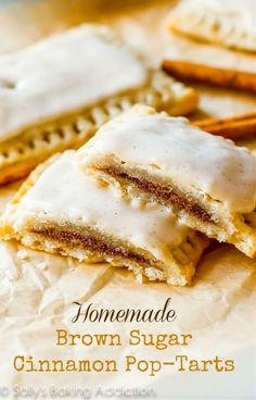 Homemade Frosted Brown Sugar Cinnamon Pop