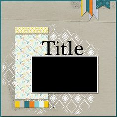 Speed Up Your Scrapbooking and Have Fun with Technique by Making Artsy Canvases First | Stefanie Semple | Get It Scrapped
