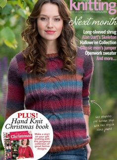 Simply Knitting Issue - №124 - 2014 для дунлани Christmas Makes, Christmas Books, Simply Knitting, Hand Knitting, Alan Dart, Halloween Skeletons, Mens Jumpers, Classic Man, Magazines