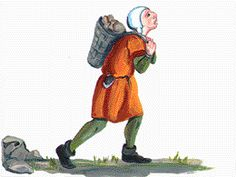 A serf was a form of peasant that worked for a lord and paid dues in order to possess (not own) the lord's land to live on.  http://www.middle-ages.org.uk/serfs.htm