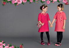 Girl Collection Summer 2017 for Children | Dolce & Gabbana