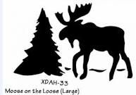 moose stencil - Google Search