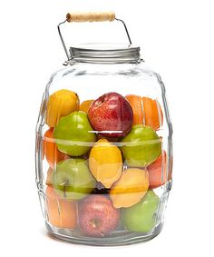 $19.99 (This Event Ends in 8 Hours)  Barrel 2.5-Gal. Jar #zulily http://www.zulily.com/?SSAID=930758&tid=acceleration_930758