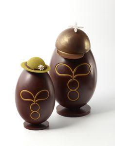 L'œuf en chocolat Gâteaux Thoumieux