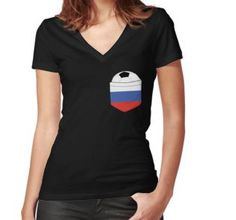 Football Russia in the breast pocket. Fan Shirts, Breast, Soccer, V Neck, Pullover, Sweatshirts, Nice, Women, Fashion