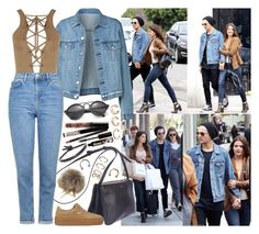 """""""For shopping with Louis and Danielle in Los Angeles"""" by valeria-angel ❤ liked on Polyvore featuring Illesteva, WearAll, Topshop, Puma, Kendra Scott, TheBalm, Dolce&Gabbana, Forever 21 and lounielle"""
