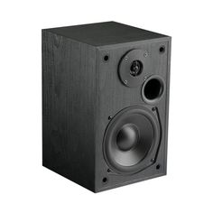 "MTX - Monitor Series 5-1/4"" 200W 2-way Bookshelf Speakers (Pair) - Black ash, MONITOR5I"