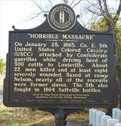 sc african american historical markers   Horrible Massacre & African American Cemetery, Simpsonville, Kentucky ...