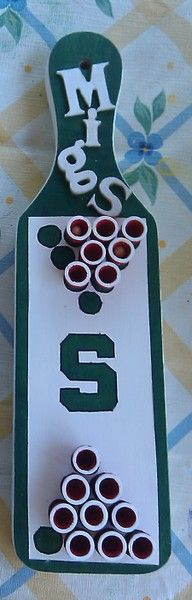 Wait wait wait...a spartan...beer pong...paddle. This is WAY too awesome for words!!!