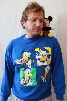 f47db686739 Vintage Donald Duck Sweatshirt