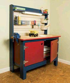 DIY kid Work bench
