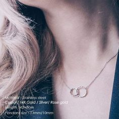 Best friend pendant stainless steel choker necklace – klozetstyle.com Circle Necklace, Necklace Types, Diy Necklace, Fashion Necklace, Gold Necklace, Letter Necklace, Necklace Chain, Gold Jewelry, Gold Chain Choker