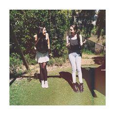 Lauren and Dani Cimorelli Cimorelli Sisters, Lauren Cimorelli, My Girl, Cool Girl, Girly Girl Outfits, Girl Bands, Girls Club, Celebs, People