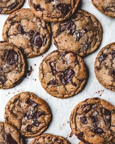 A new and very special way to use your sourdough starter, chocolate chip cookies. That's right, these wonderful cookies use the discarded… Sourdough Starter Discard Recipe, Sourdough Recipes, Sourdough Biscuits, Best Chocolate Chip Cookie Recipe Ever, Perfect Chocolate Chip Cookies, Cookie Recipes, Dessert Recipes, Desserts, Drink Recipes