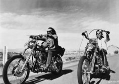 Easy Rider. One of the best movies made during the counterculture era.