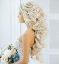 Amazing hair ����❤️ Repost @the.best.wedding_ . . . . . #mermaidhair #weddinginspo #romantic #weddinghair #fairytail #bride #hairup #hairinspo #wedding #stunning #hairstylist #bridalhair #bridestyle #bridesmaids #weddingflowers #weddingdress http://gelinshop.com/ipost/1517335662503118337/?code=BUOqL7wh8YB